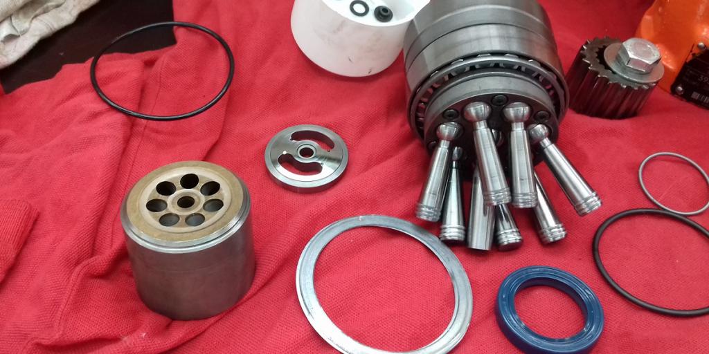 Bosch Rexroth hidraulika szivattyú szétszerelve