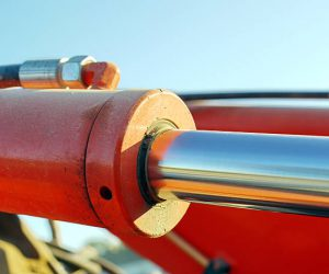hydraulic cylinder background